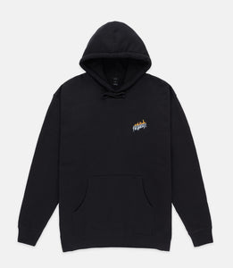 VIRTUAL WORLD HOODIE - BLACK