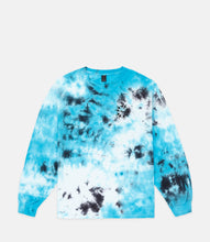 Load image into Gallery viewer, MANY HANDS L/S TEE - BLUE