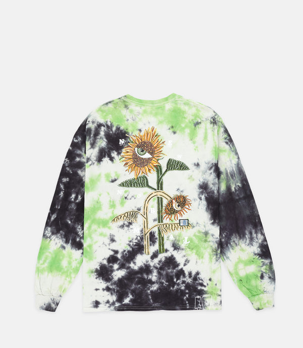 BEAUTIFUL DAZE L/S - BLACK TIE DYE