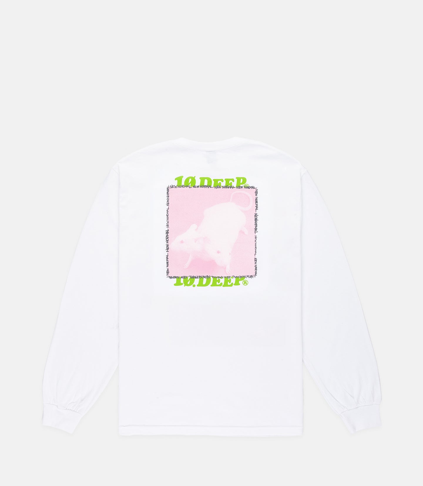 NEW NORMAL L/S - WHITE