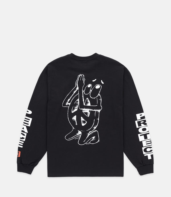 PRAYER L/S - BLACK
