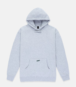 LOGO HOODIE - HEATHER GREY