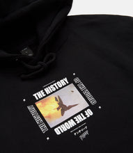 Load image into Gallery viewer, HISTORY OF THE WORLD HOODIE - BLACK