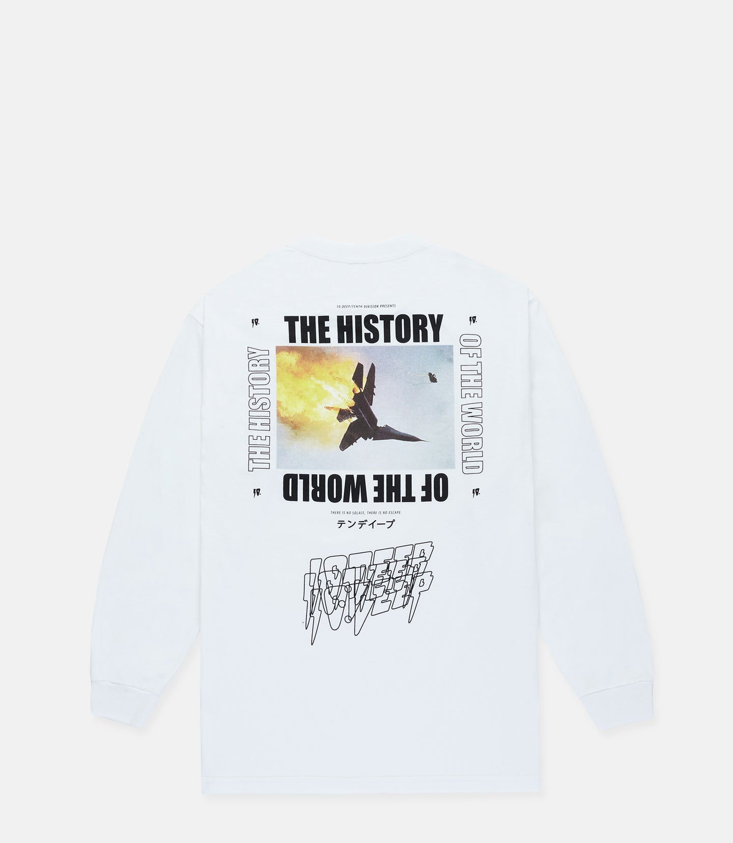 HISTORY OF THE WORLD L/S - WHITE