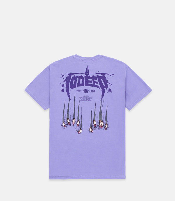 FAREWELL S/S TEE - PURPLE
