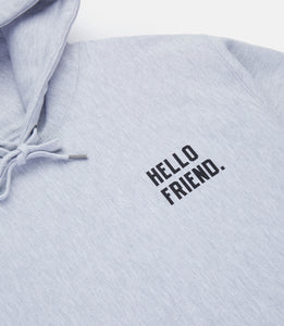 JOIN US HOODIE - HEATHER GREY