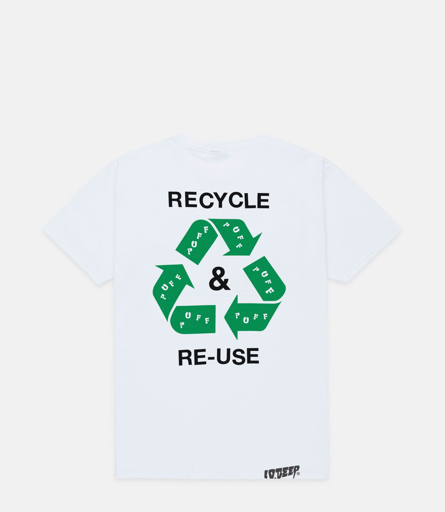 WORLD PEACE TEE - 420 X EARTH DAY - WHITE
