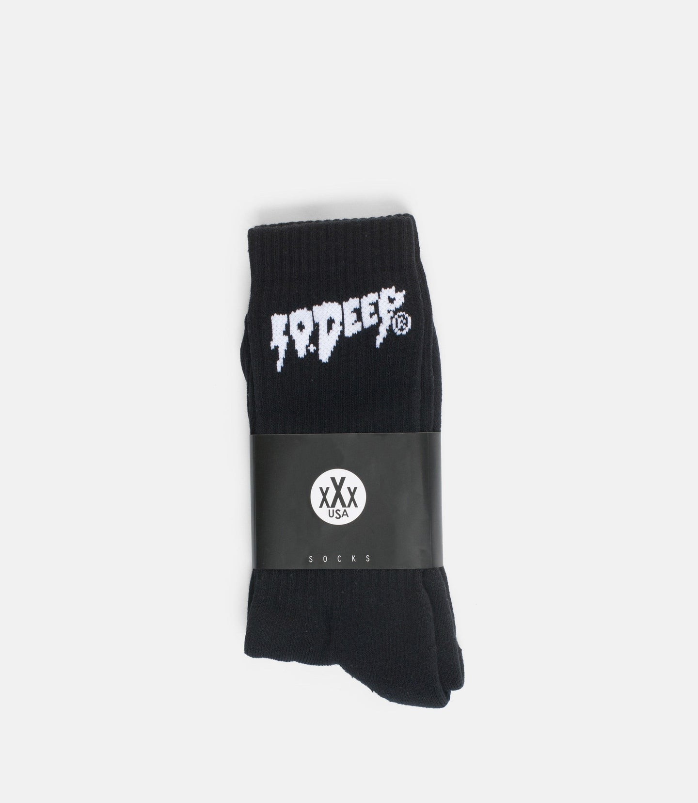 SOUND & FURY SOCKS - BLACK