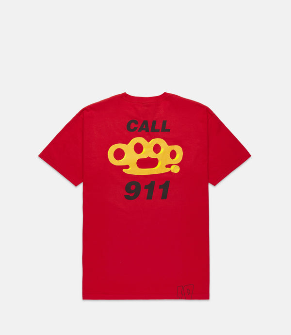 CALL 911 S/S - RED