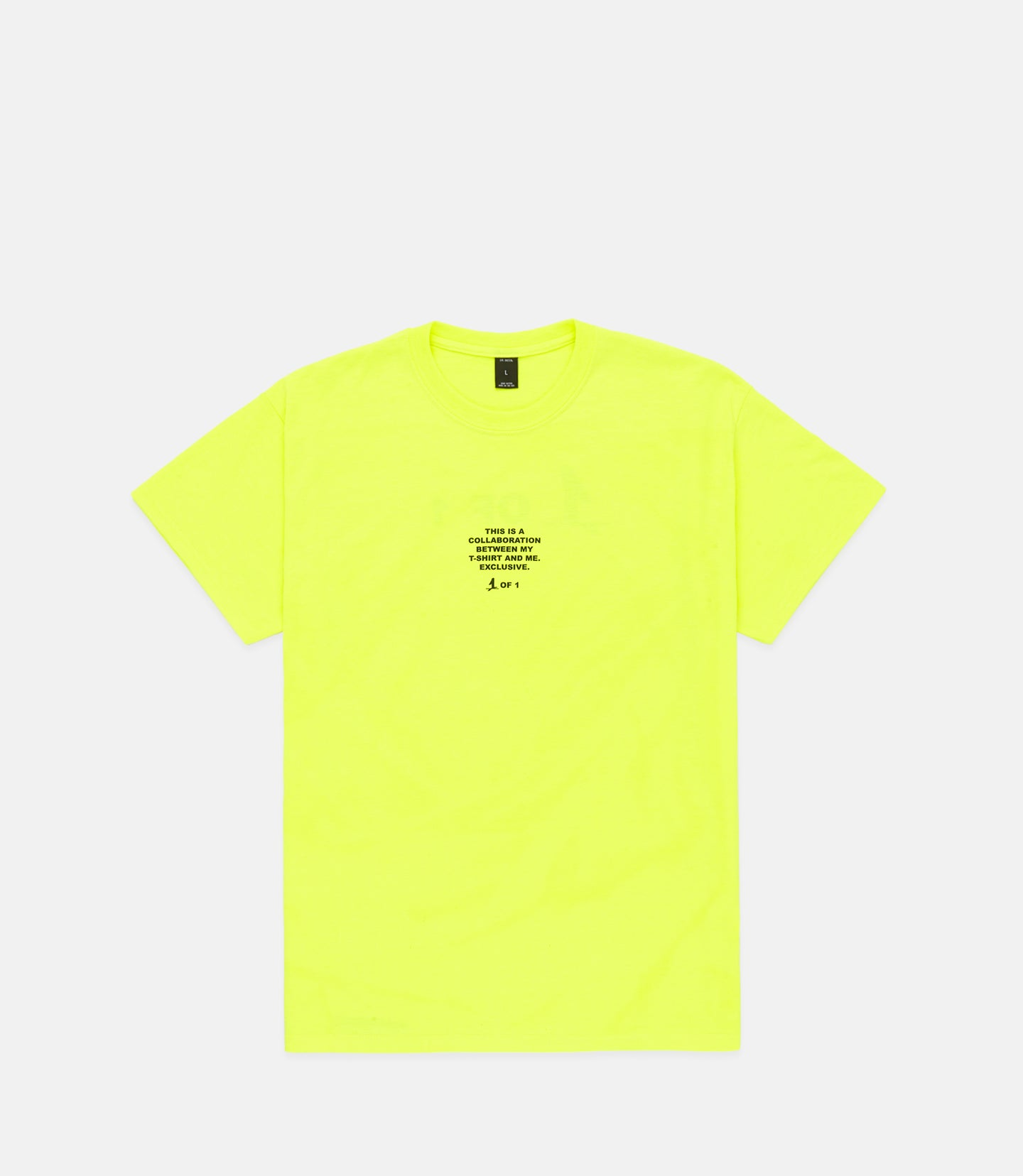 COLLAB 2.0 S/S -NEON YELLOW