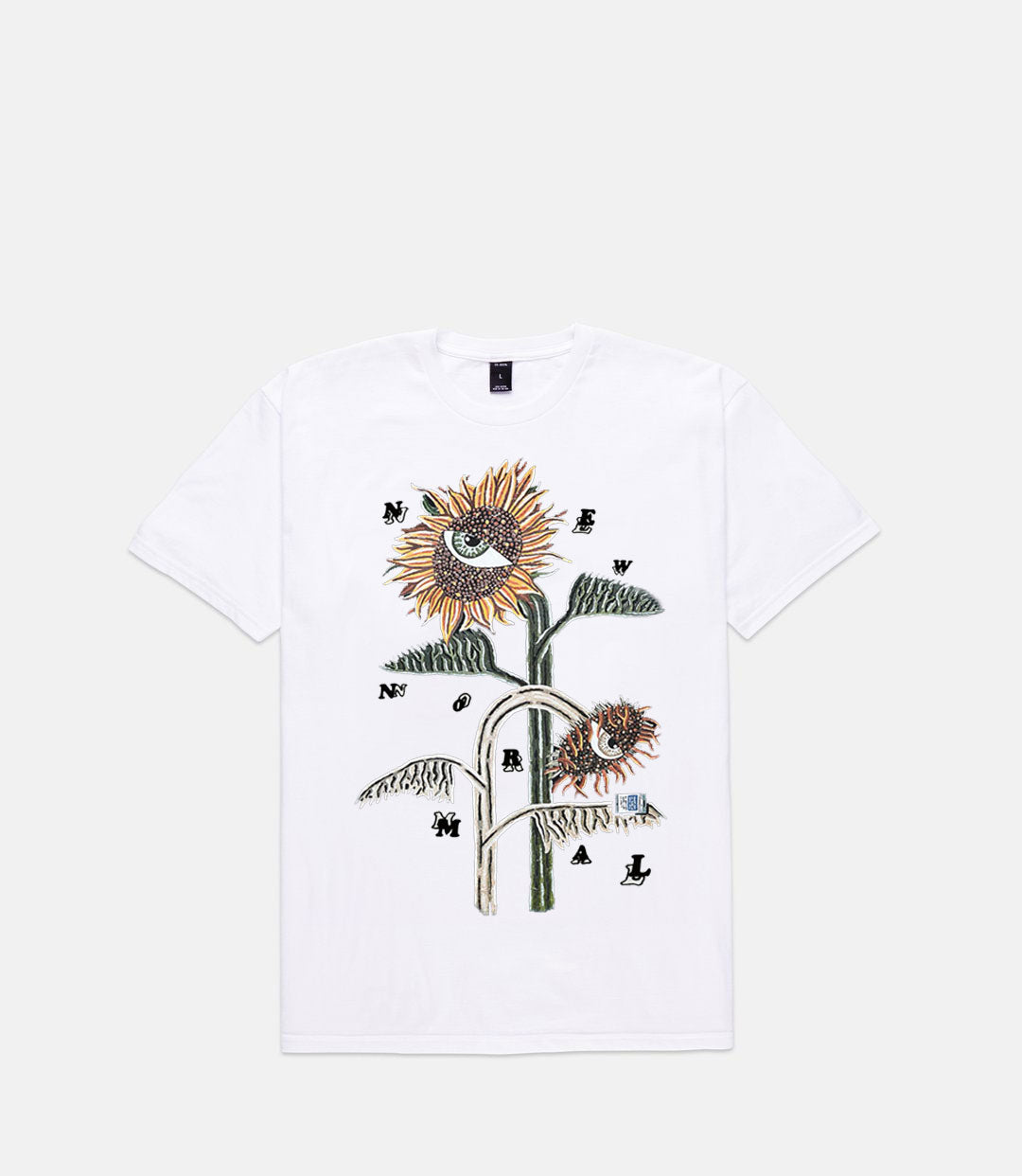 BEAUTIFUL DAZE S/S - WHITE