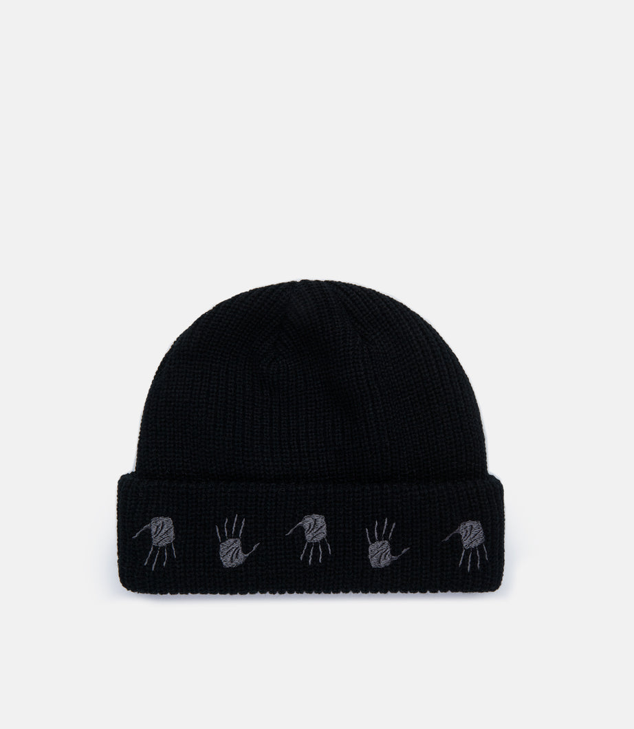 MANY HANDS BEANIE - BLACK