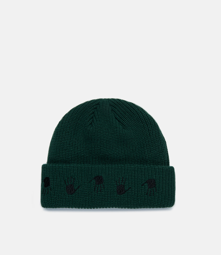 MANY HANDS BEANIE - GREEN