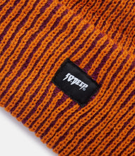 Load image into Gallery viewer, FLUORO BEANIE - ORANGE/PURP