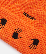 Load image into Gallery viewer, MANY HANDS BEANIE - ORANGE