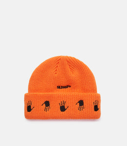 MANY HANDS BEANIE - ORANGE