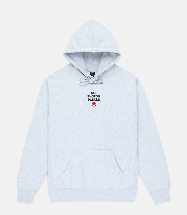 NO PHOTOS HOODIE - ATHLETIC GREY