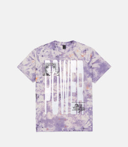 POWER S/S TEE - PURPLE