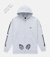 Load image into Gallery viewer, FRAMEWORK ZIP HOODIE - HEATHER GREY