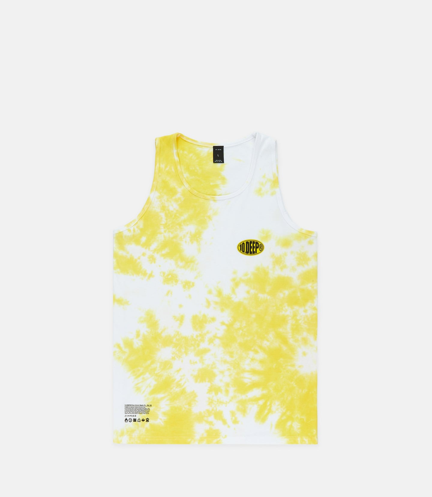 CONGLOMERATE TANK - YELLOW