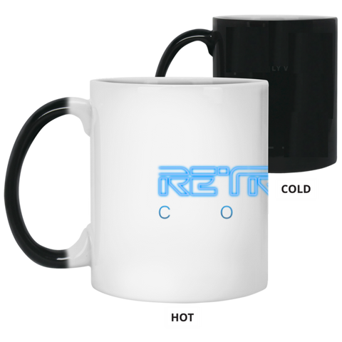 Retrofuture Coffee Color Changing Mug