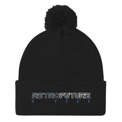RETRO FUTURE COFFEE NIT HAT