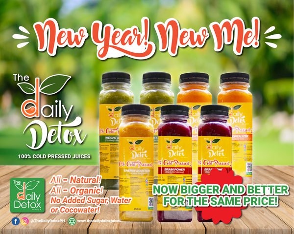New Year New Me Cold Pressed Juices Detox Kits
