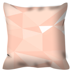 Agave Pillow - Salmon