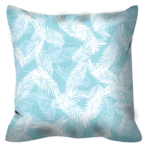 Areca Pillow - Cyan