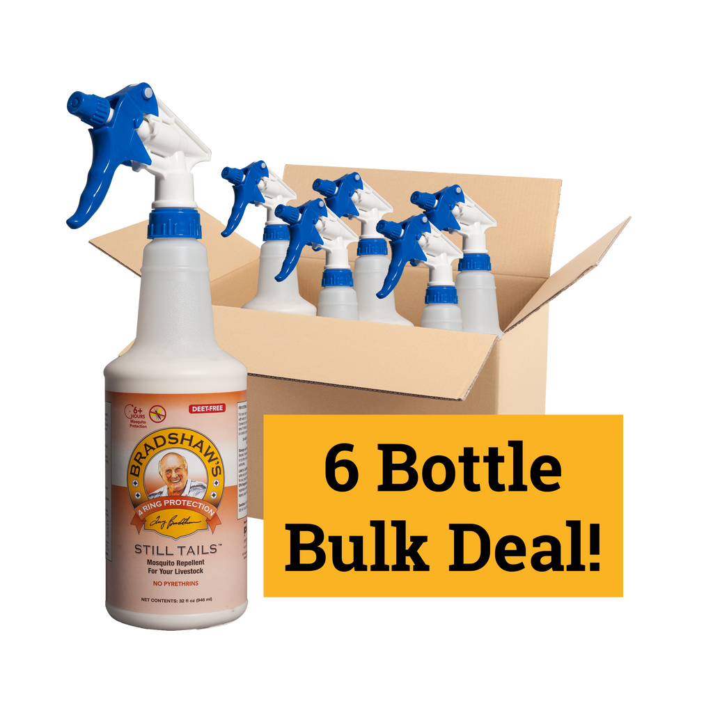 BULK BOX (6 Bottles) STILL TAILS™ Mosquito Repellent