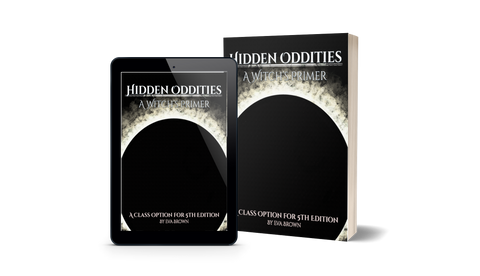 Pre-Order Hidden Oddities: A Witch's Primer