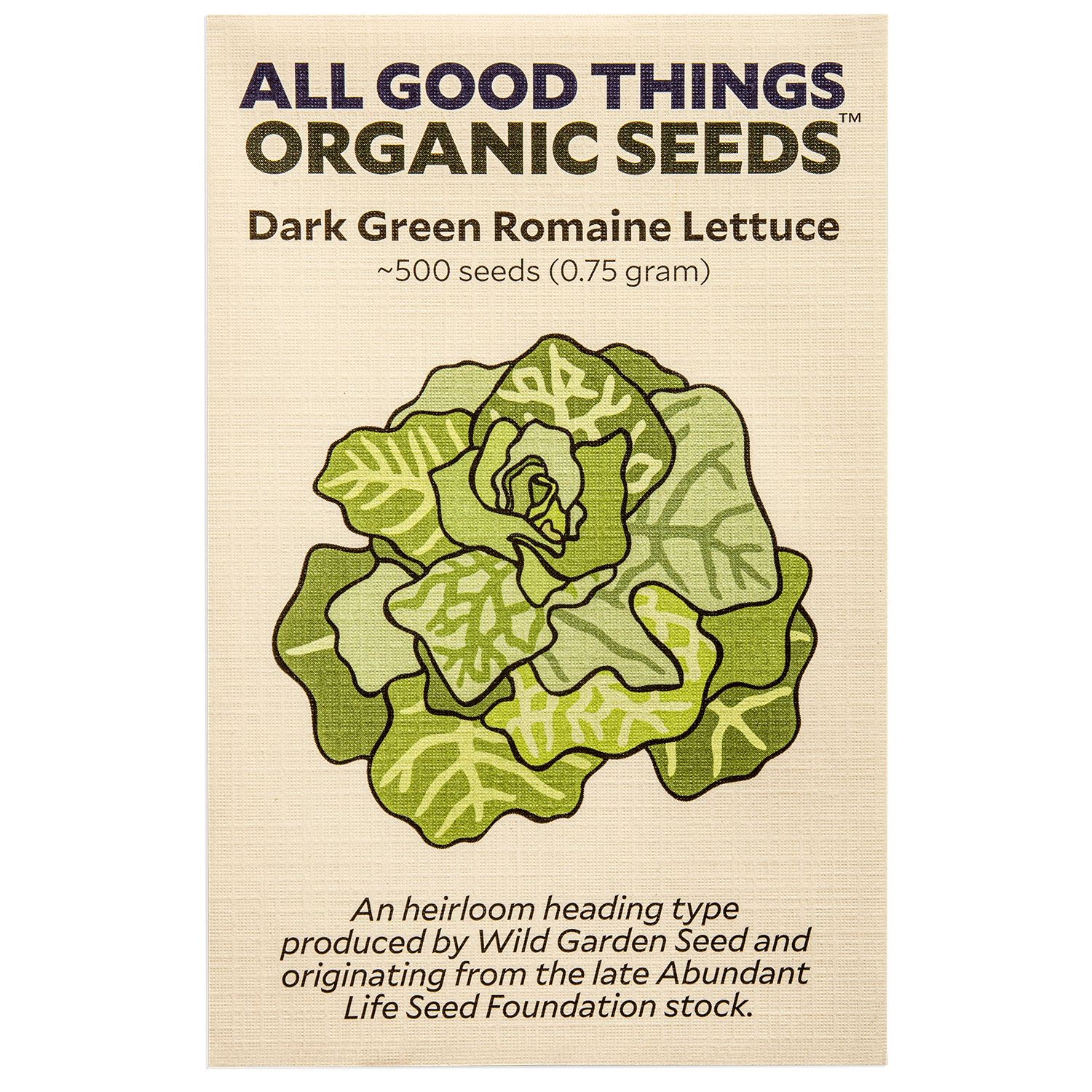 Dark Green Romaine Lettuce