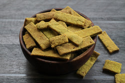 ROASTED BAJRA METHI GARLIC STICK