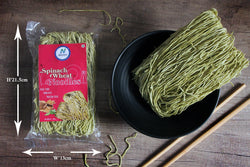 SPINACH WHEAT NOODLES 100 GM