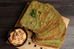 Low Fat Whole Wheat Palak Khakhra Mobile