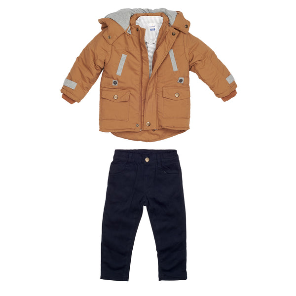 Extra Warm Parka & Trousers Set