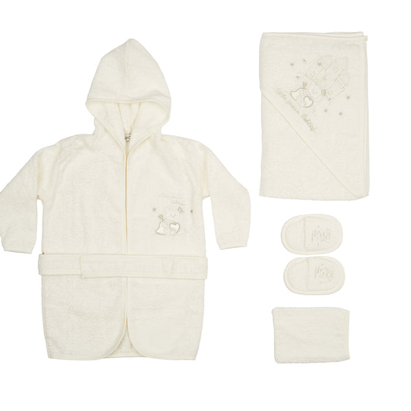 Little Prince White Bathrobe