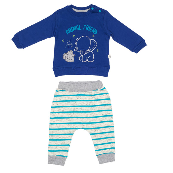 Elephant Sweatshirt & Trousers