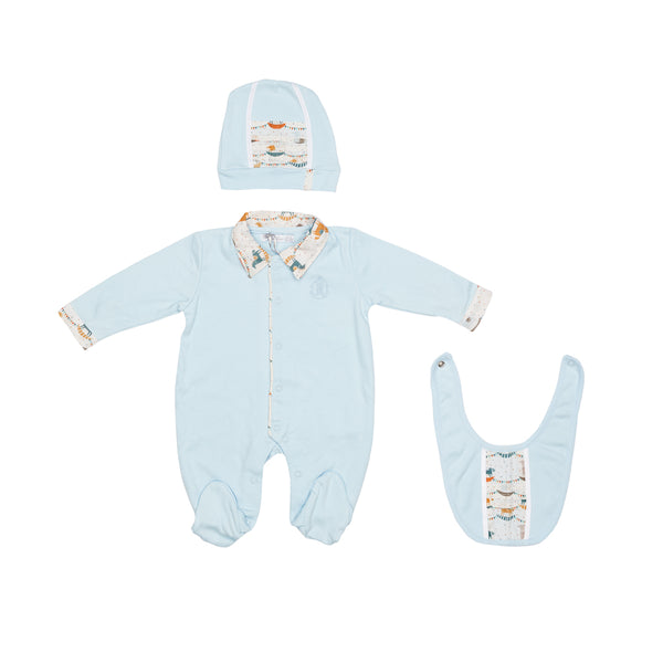 Blue Newborn Set