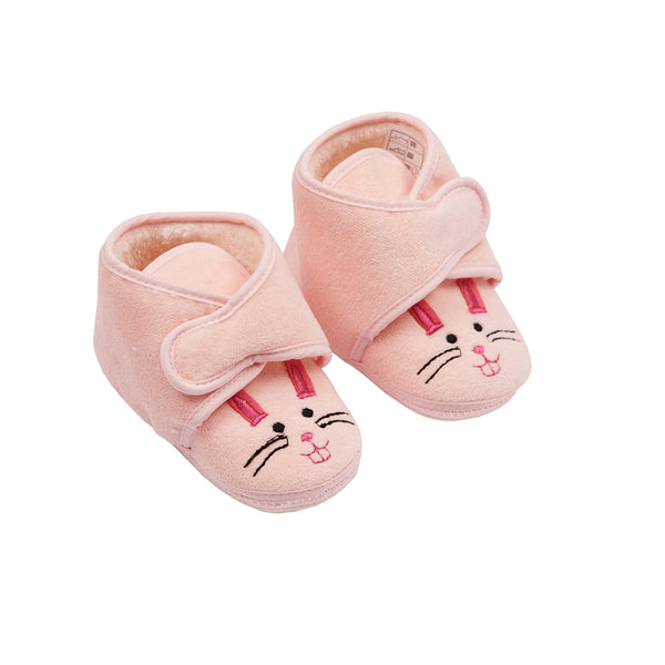 Soft Pink Bootees