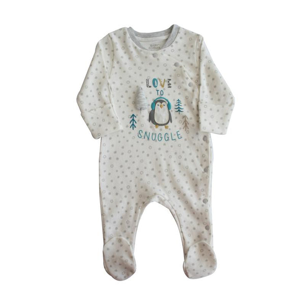 Love To Snuggle Baby Sleepsuit