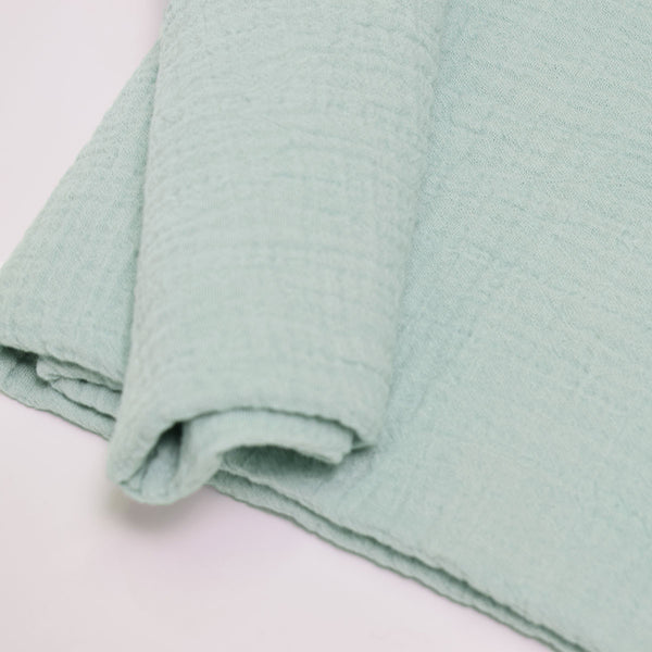 Double layer muslin blanket