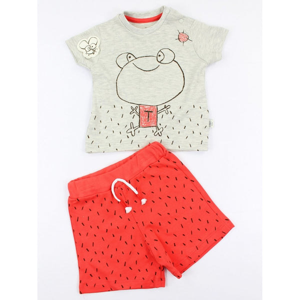 Jersey shorts and T-shirt set