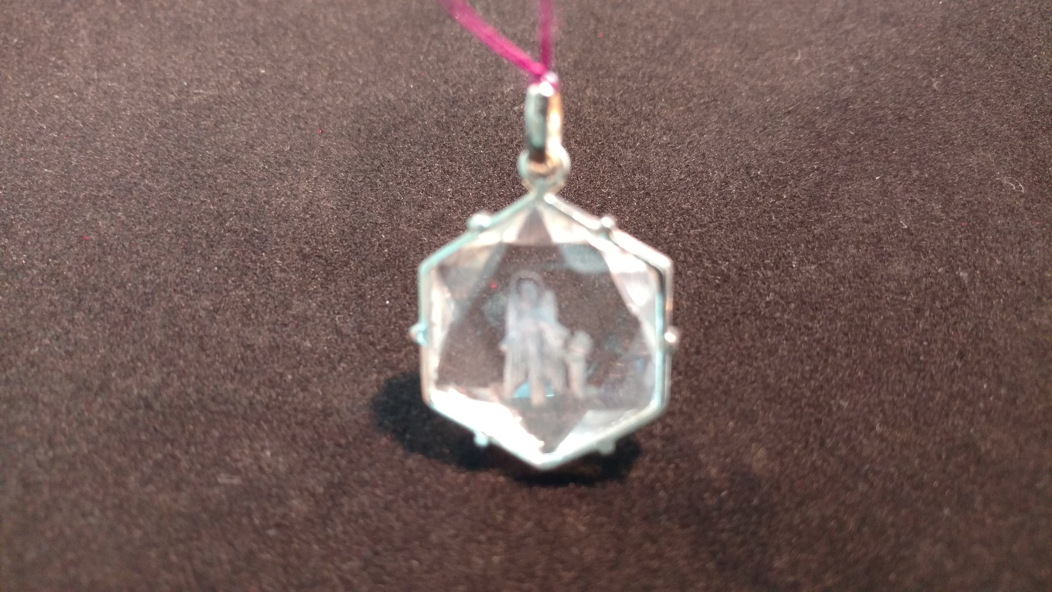 Archangel Gabriel Hexagram. Silver 30mm