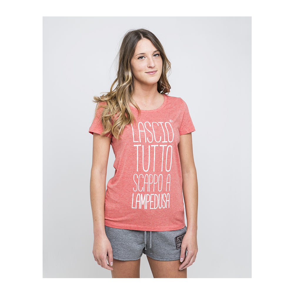 T-SHIRT ICONIC CORALLO