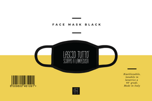 FACE MASK BLACK