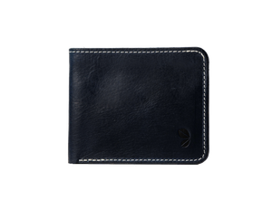 Navy billfold wallet