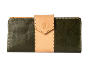 fes olive women leather wallet