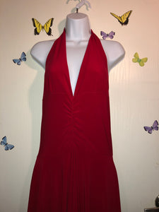 Lady In Red Backless Dress