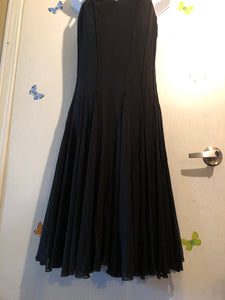 Long flowing Black Dress